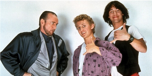 rufus, bill and ted