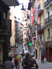 "Street in Pamplona • <a style=""font-size:0.8em;"" href=""http://www.flickr.com/photos/48277923@N00/2621301456/"" target=""_blank"">View on Flickr</a>"