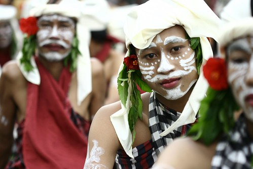 Bali Arts Fest warriors