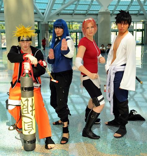 Naruto Hinata Sakura Sasuke Cosplay Hinata Hehe