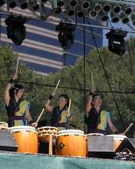 San Jose Taiko rocking the main stage