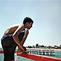 YOSHI-07170017 (Panchesco) Tags: summer people sonora mexico pier muelle mar kino gente verano diver seaofcortez clavadista
