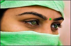 G R E E N (bnilesh) Tags: portrait green female eyes supershot golddragon mywinners abigfave goldmedalwinner platinumphoto colorphotoaward goldstaraward goldstarawardgoldmedalwinner rubyphotographer goldenheartaward