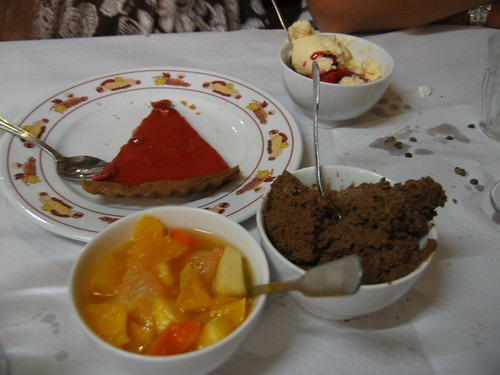 Lyon Dinner: Dessert Course