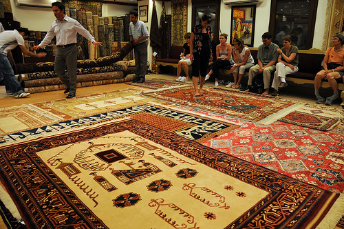 Turkish Rugs in Kusadasi, Turkey