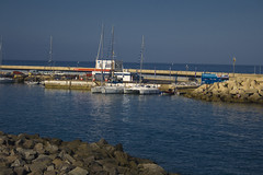 Marina #2 (michaelgrohe) Tags: ocean vacation costa holiday beach marina island coast boat ship kanaren canarias atlantic tenerife teneriffa inseln adeje