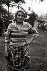 Doña Mercedes (Rai 幻の光) Tags: camera old blackandwhite woman art film monochrome canon village guatemala rangefinder canonet ql17 giii centralamerica pacaya efke centroamerica adox chs100