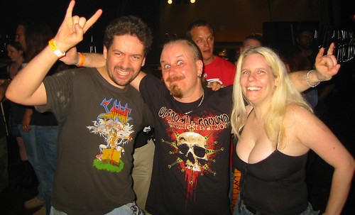 20080419 - Sabbat concert at Jaxx - 154-5493 - Clint, Martin Walkyier, Carolyn
