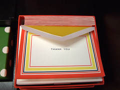 Kate Spade Thank You Notes