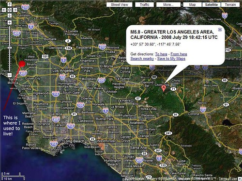M5.8 Earthquake in LA