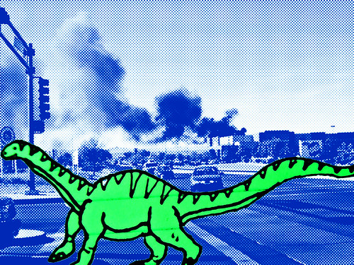 DinoStompinComic