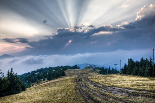 HDR on the mountain