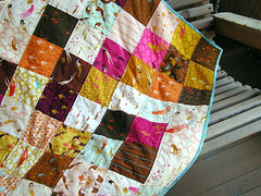 Mendocino quilt close