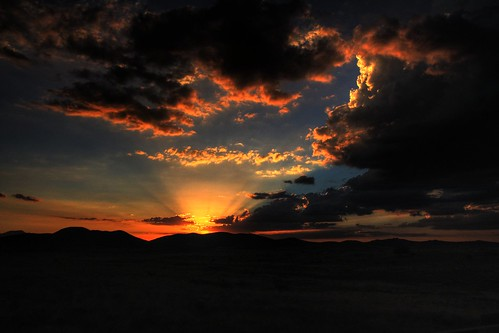 Sunset Over Prescott