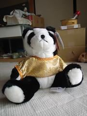 Stuffed panda (matsuyuki) Tags: stuffedtoy panda stuffedanimal stuffeddoll
