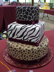 Animal Print Hat Boxes