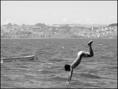 .... com Lisboa ao fundo