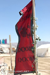 Camp of Doom (of Doom) (mr. nightshade) Tags: costumes art festival desert wind performance playa blackrockcity event brc doom dust clowns americandream burningman2008 bm08 upcoming:event=261418