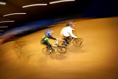 side by side (Niko Miguel) Tags: city newmexico bike nikon bmx duke fisheye niko nikondigital gpg fps fpc nikond200 albuquerquenewmexico strobist nikonstunninggallery nikogvillegas nikkor105mmf28fisheye dukecitybmxniko