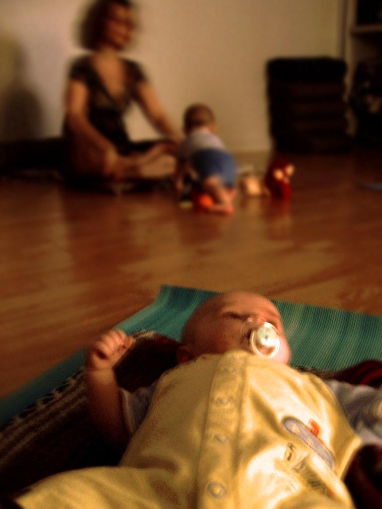 Day 95 Baby Yoga