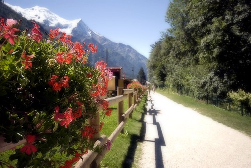 Path to Mont-Blanc