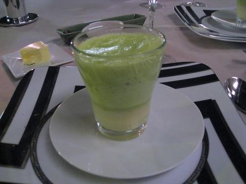Abac: Green Vichyssoise