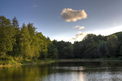 Abendsonne in Reifenstein