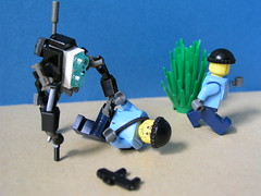 HUNTERRRssss !!!!!! (ORRANGE.) Tags: 2 two lego hunter halflife episode