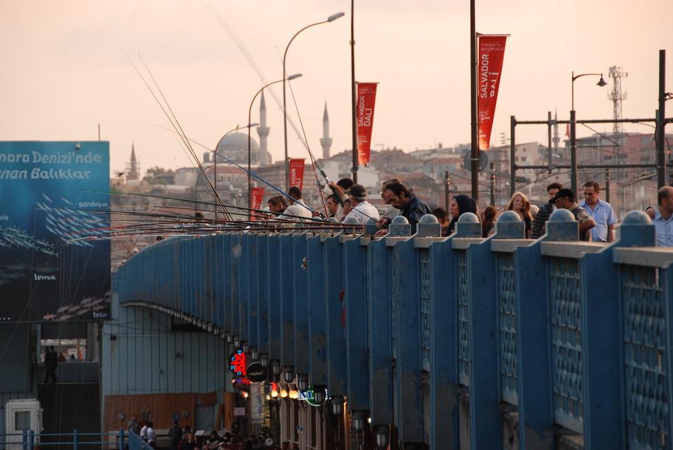 Istanbul-Galata Bridge 加拉達橋