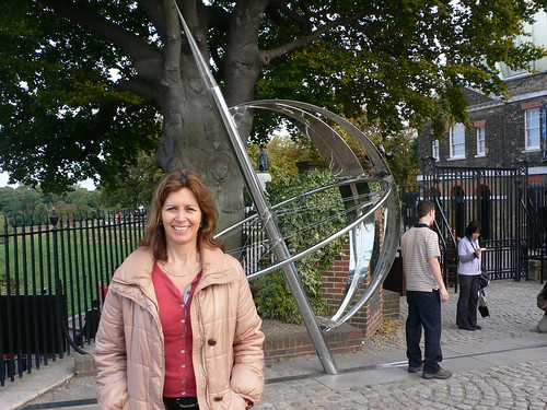 At the Greenwich Meridian