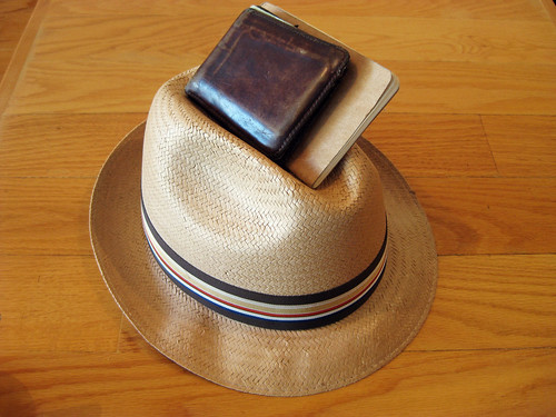 moleskine hat vancouver notebook table nice tea wallet fit cahier plånbok