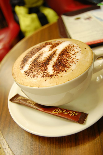 McCafe Cappuccino
