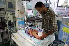 Oliver and Shami at the NICU
