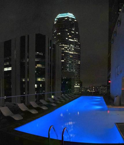 Standard Hotel rooftop bar