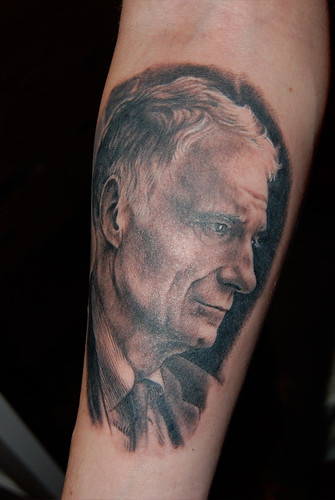 Ralph Nader tattoo