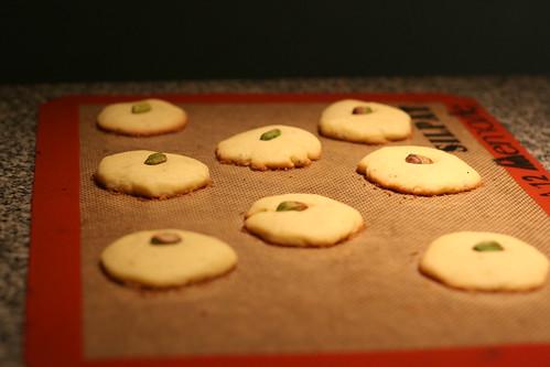 Persian cardamom cookies