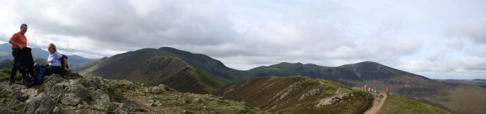Grisdale Pike Round To CauseyPike