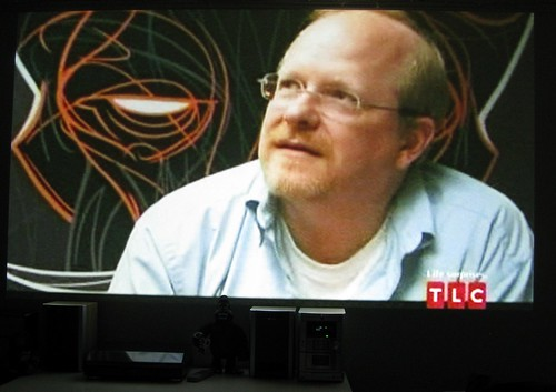 My Art on LA Ink- Mark Waid and Cthulhu