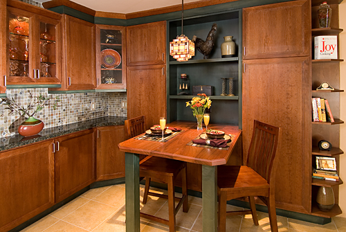 Custom interior design - kitchen dinette