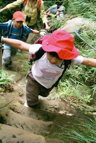 你拍攝的 15爬孝子山步道。