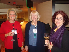 PRSA Staff (especially Ann and Judy wink) Being Very Good at the Opening Reception
