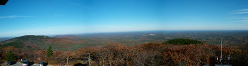 north/east panorama from pack monadnock