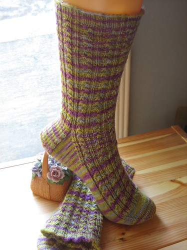 Socktober Conwy in White Willow 100% Merino