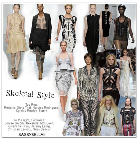 Spring 2009 Trend Spotlight: Skeletal Style
