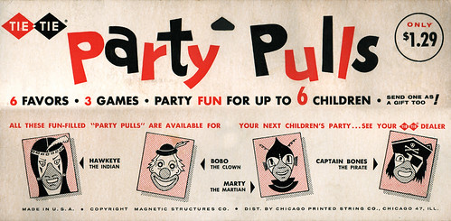 "Halloween ""Party Pulls"",  1962"
