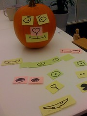 Post-it Pumpkin