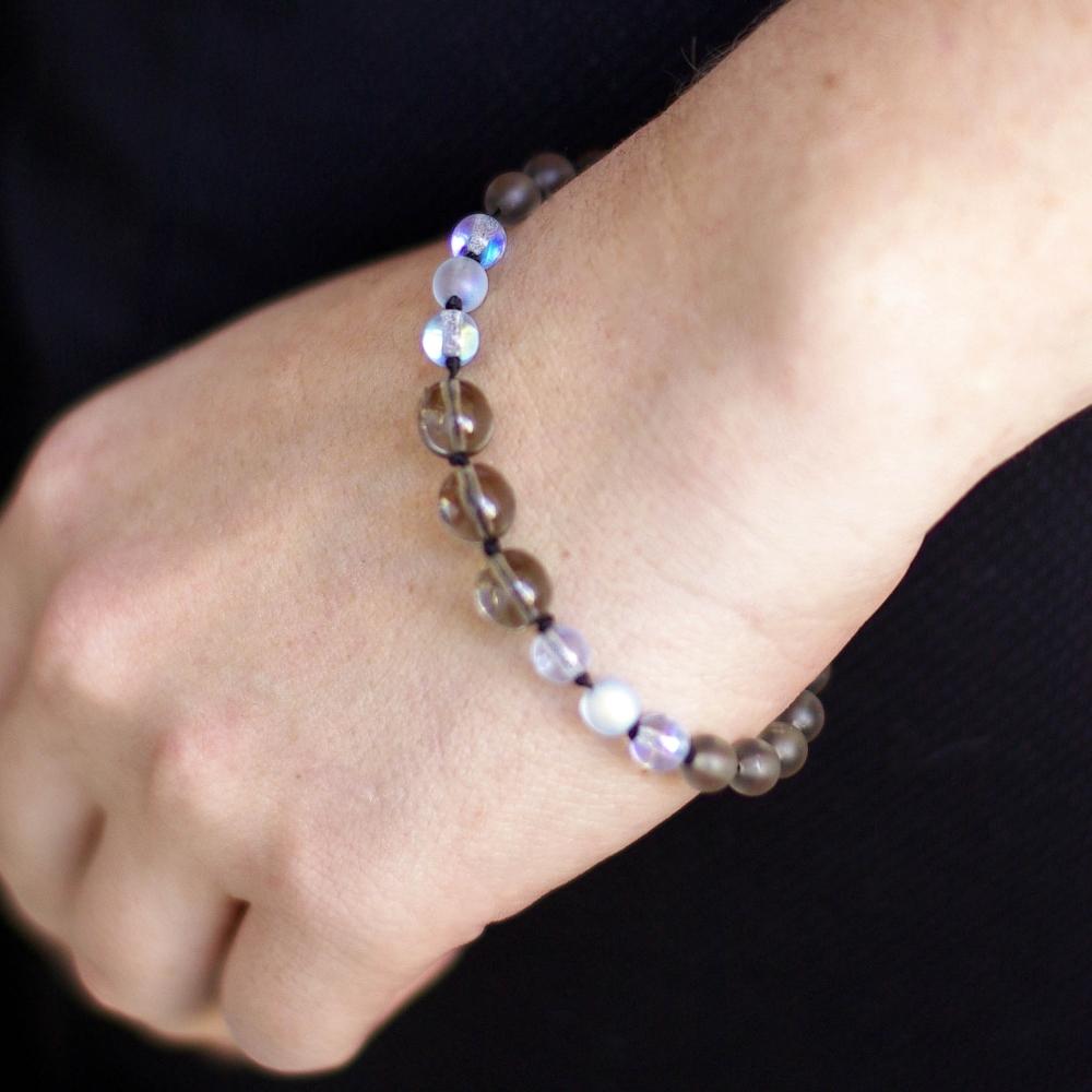 Knotty Blue Bracelet