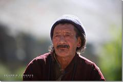 Lamayuru Old Man (Shabbir Ferdous) Tags: photographer bangladeshi canoneos5d ef70200mmf28lisusm wwwshabbirferdouscom shabbirferdouscom
