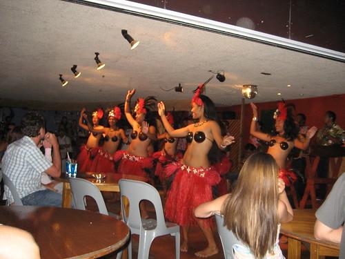 Cook Islands traditional dancing