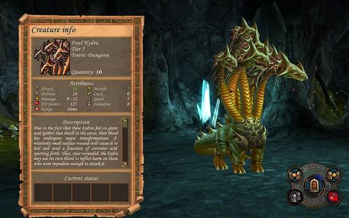 Dungeon Foul Hydra